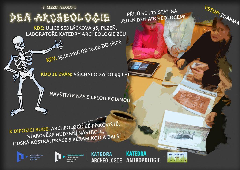 Plakátek Den archeologie