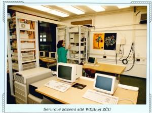 7.3.1996 Slavnostní zahájení provozu západočeského superpočítačového centra